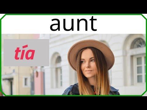 La familia en inglés y español con pronunciación [Practica vocabulario en inglés con imágenes # 1]