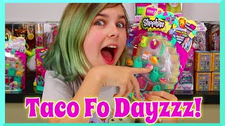 Shopkins Season 3 - 12 Pack With Surprise Blind Bag Opening And Taco Fo Dayzzz