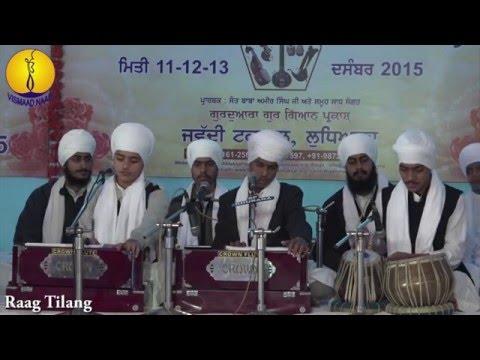 Students of Jawaddi Taksal : Raag Tilang - Bhai Bharat Singh, Bhai Simran Singh