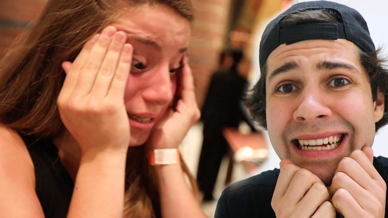 THIS MADE HER START CRYING!! (BLOOPERS)