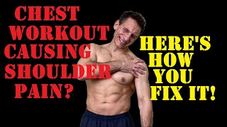 Chest Workout Causing Shoulder Pain? Here's How To Fix It!