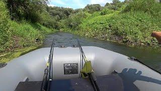 ПОБЫВАЛ В ТАКИХ МЕСТАХ, А РЫБЫ... Ловля на спиннинг в июле. Рыбалка с лодки