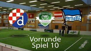 Spiel 10: GNK Dinamo Zagreb 3-1 Hertha BSC Berlin │U12 Hallenmasters TuS Traunreut 2017
