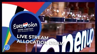 Eurovision Song Contest 2020 - Allocation Draw & Host City Insignia