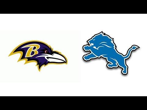 Lions vs Ravens