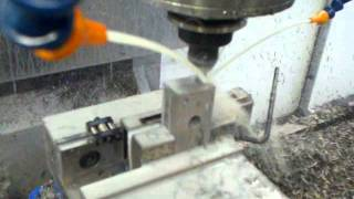 Mastercam high speed machining on a Haas TM2