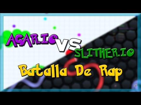 AGAR.IO vs SLITHER.IO - Batalla de Rap   Keyblade