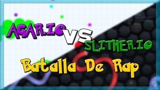 AGAR.IO vs SLITHER.IO - Batalla de Rap | Keyblade