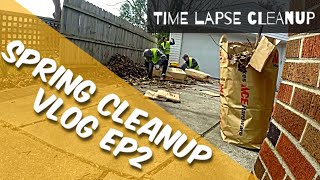 Spring Cleanup Vlog ep2 || time lapse cleanup