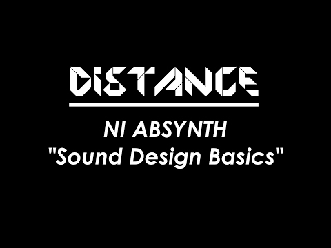 "Absynth ""Sound Design Basics"""