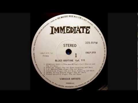 The Immediate All Stars - Piano Shuffle - 1965