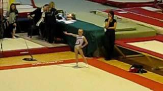 Amalia Heine FX Championnat Du hainaut 2009