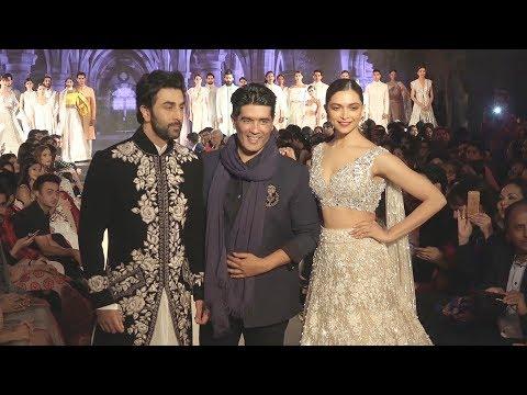 Ex Lovers Ranbir और Deepika RAMP WALK At Mijwan Fashion Show 2018 Show By Manish Malhotra