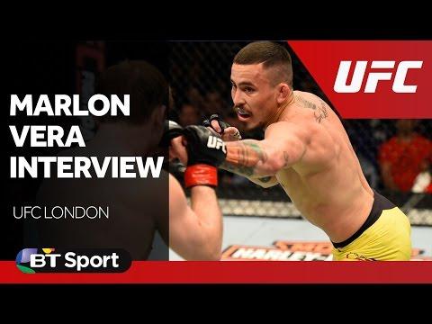 UFC London: Marlon Vera exclusive post-fight interview