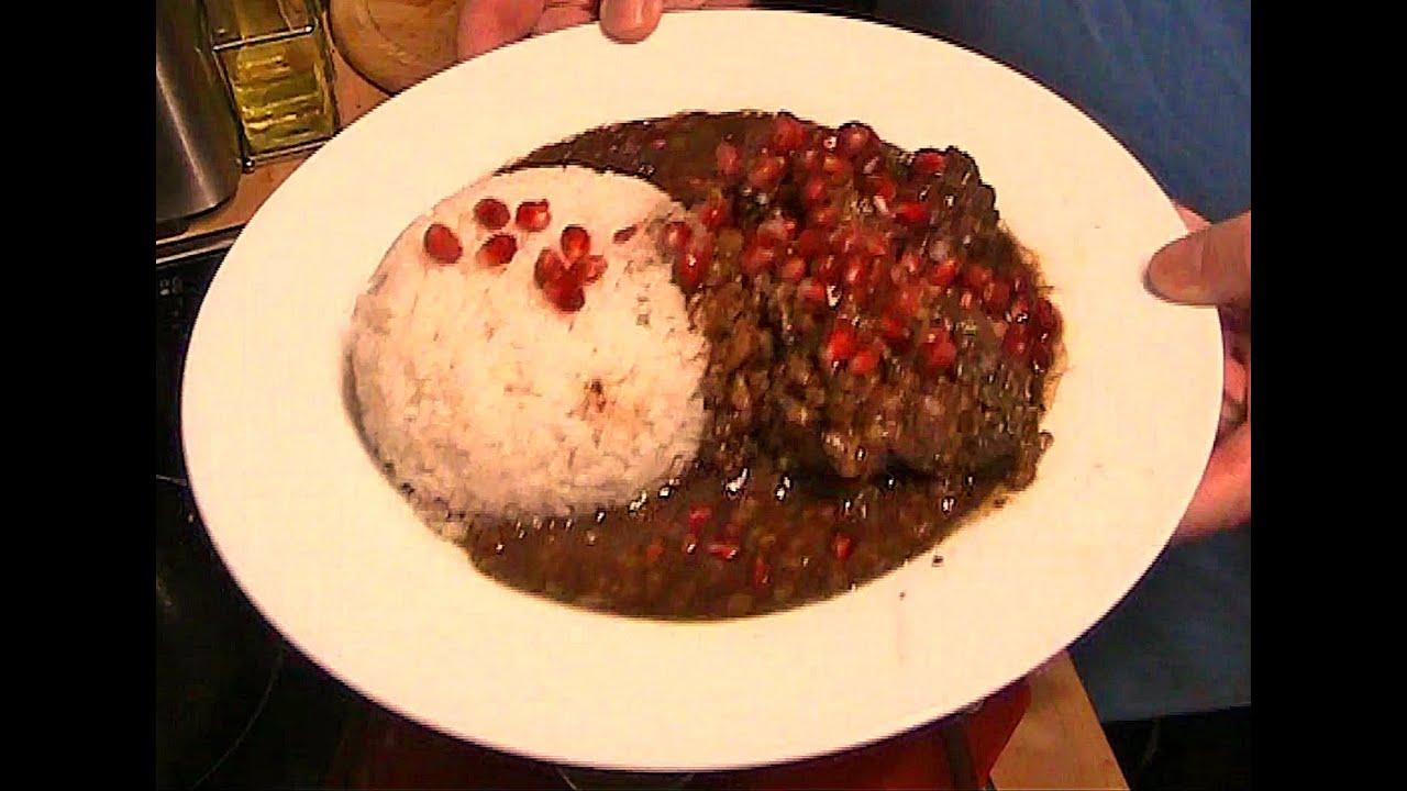 Chicken Pomegranate Walnut Persian Stew - Khoresht ...