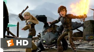 How to Train Your Dragon 2 (2014) - Dragon Trappers Scene (2/10) | Movieclips