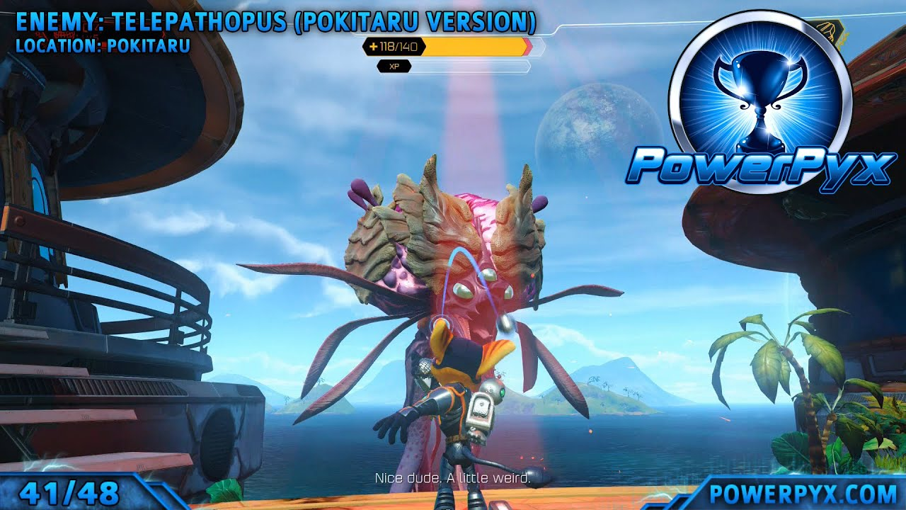 Ratchet & Clank 2016 - Death By Disco Trophy Guide (Make All Enemies Dance with Groovitron) - YouTube