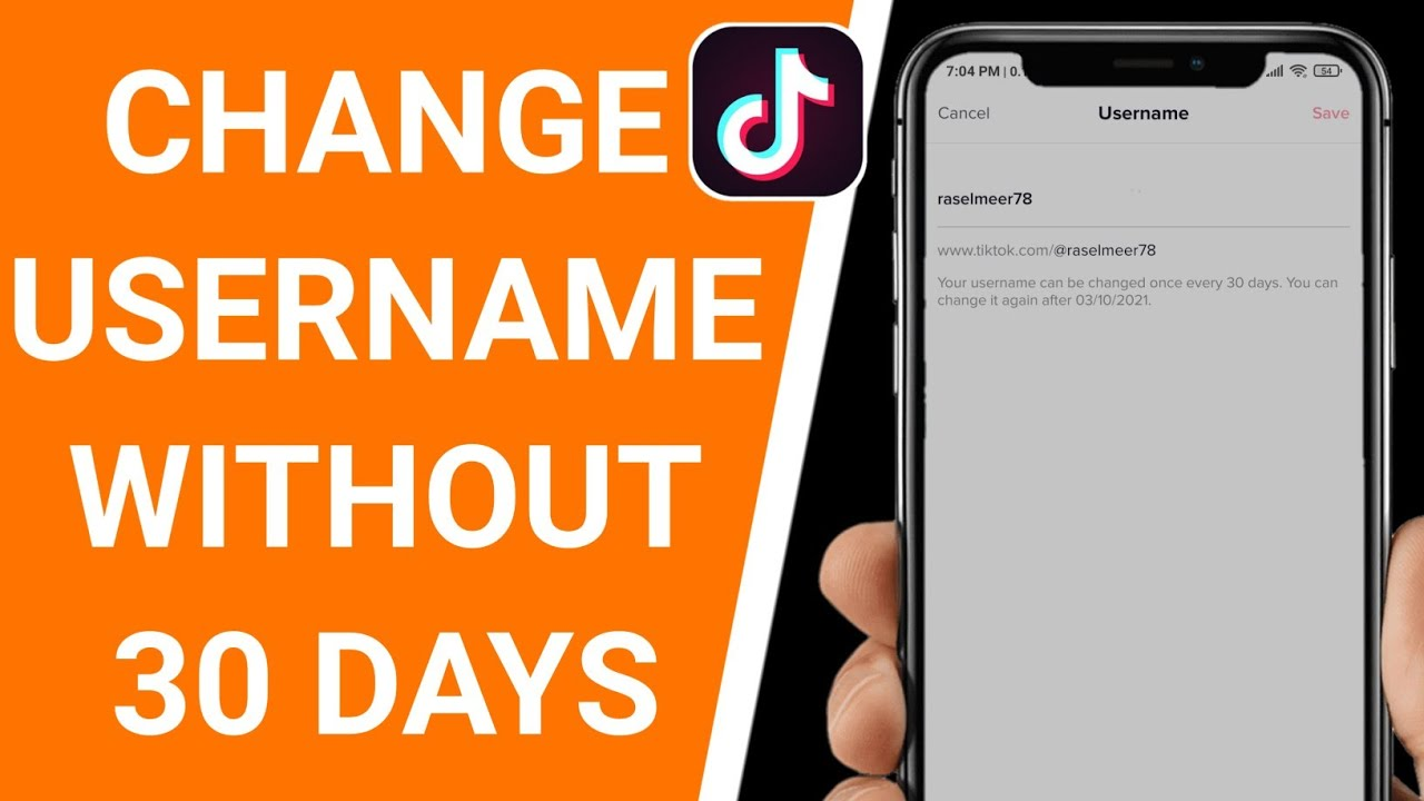 How To Change Your Tiktok Username Without Waiting 30 Days Updated 2021 Youtube