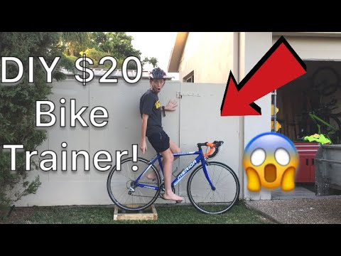 HOW TO MAKE BIKE ROLLER/TRAINER