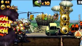 Super Quarterback Zombies Completing Mission Golden Bombs In Zombie Tsunami
