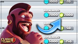 HOW TO GET 2000 FŔEE GEMS in CLASH OF CLANS!