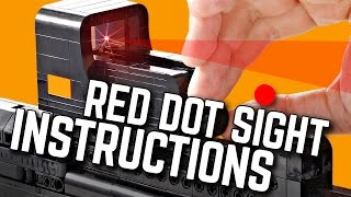 Building Instruction: Lego Reflex Sight