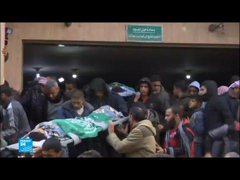 غزة تشيع الشابين الفلسطينيين اللذين قتلهما الجيش الإسرائيلي  - نشر قبل 19 دقيقة