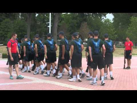 USMMA Class of 2018 Indoctrination: Day 13