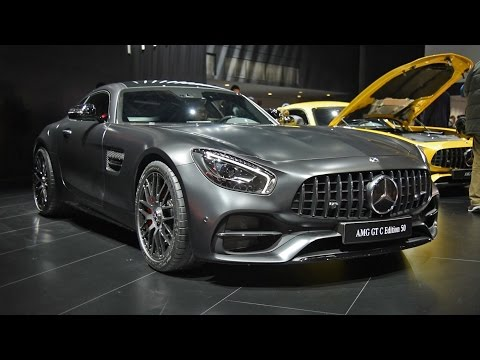 2018 Mercedes-AMG GT C First Look: 2017 Detroit Auto Show
