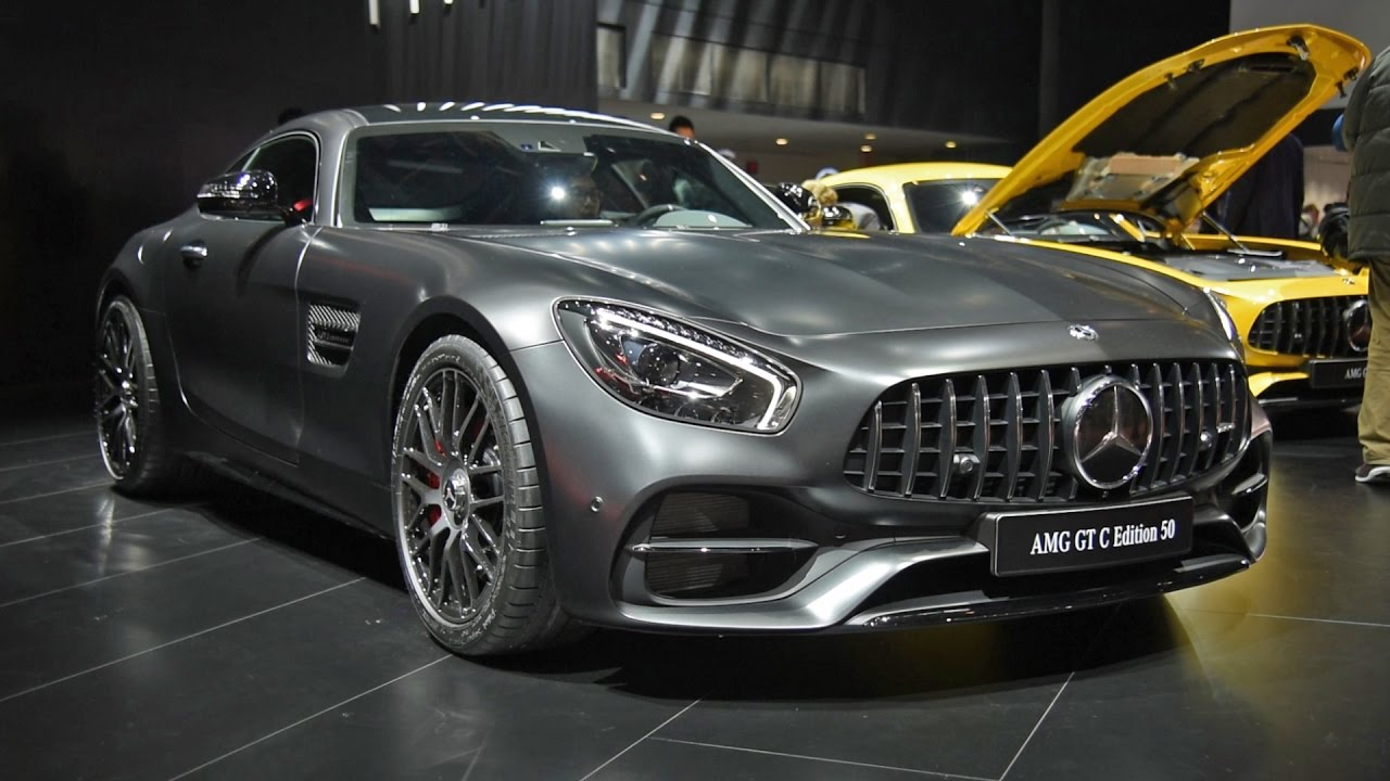 MercedesAMG GT C First Look Detroit Auto Show YouTube - Mercedes car show 2018