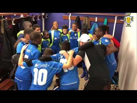 M-N-VDB FC 2 1-3 RIS PORTUGAIS U15 CRI DE GUERRE
