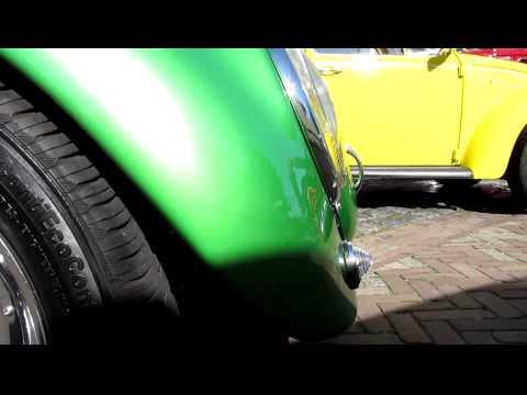 1968 vw beetle speedster pt1 @ schoondijke 2012