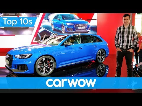 New Audi RS 4 Avant 2018 - better than a Mercedes-AMG C63?   Top10s