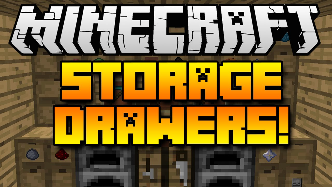 storage drawers mod spotlight