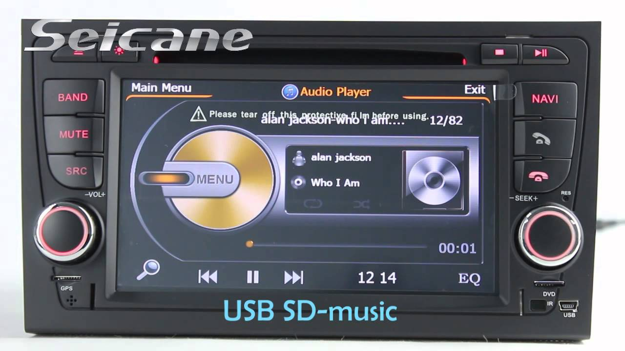2002 2008 audi a4 s4 rs4 b5 b6 b7 dvd gps audio head unit. Black Bedroom Furniture Sets. Home Design Ideas