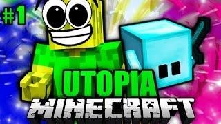 Ein TRAUMHAFTES ABENTEUER!! - Minecraft Utopia #001 [Deutsch/HD]