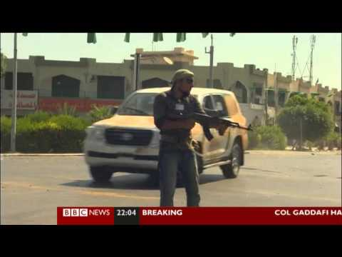 BBC's Orla Guerin nearly shot while reporting in Libya