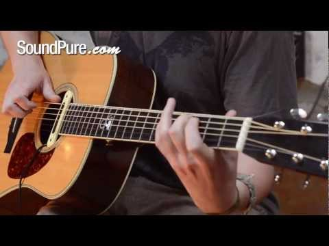 LR Baggs M80 Acoustic Pickup Demo