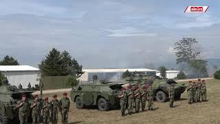 Munjeviti start i izlazak srpskih tenkista