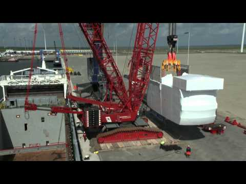 Logistic solutions to the wind power industry