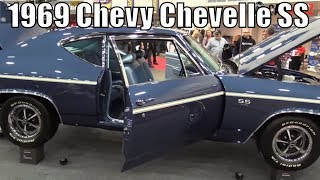 1969 Chevy Chevelle SS At The 2018 Autorama Car Show