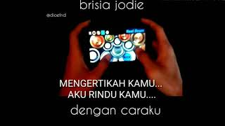 Dengan Caraku - Brisia Jodie Feat Arsy Widianto ( RealDrum Cover )