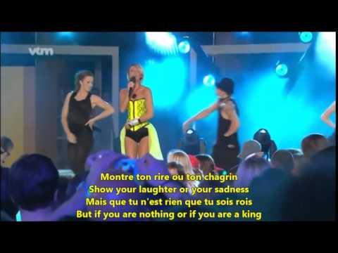 Learn French with Songs - Kate Ryan Elle Ella - Dual Lyrics