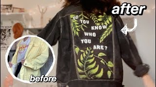 Painting My Jean Jacket (Harry Styles Lights Up Version)