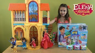 Princess Elena of Avalor Story with Little Princesses in Disney Junior Puppy Dog Pals Treehouse