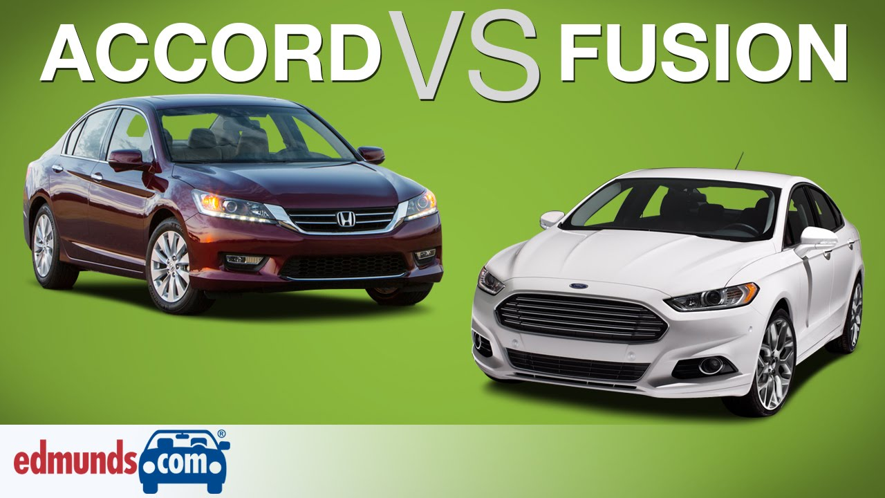 Honda Accord Vs Ford Fusion Which Sedan Belongs In Your Garage You