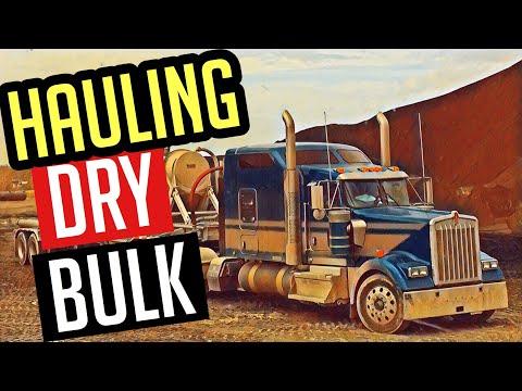 Hauling Dry Bulk! Owner Operator Trucking VLOG #136