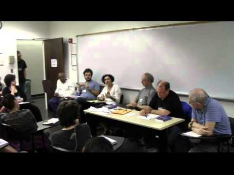 Panel on 'Future of World Capitalism' at Left Forum, New York 2013. 6 of 6: discussion