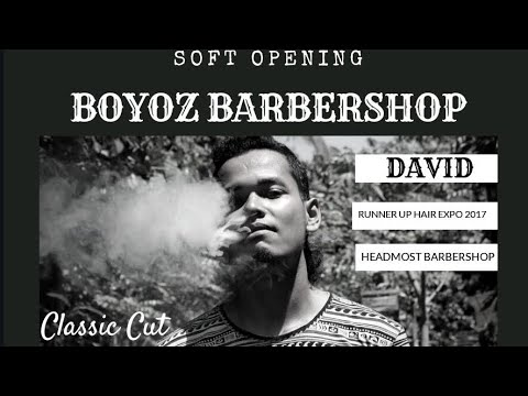 Hairshow Barbering Modern Haircut X Classic Haircut Barberman