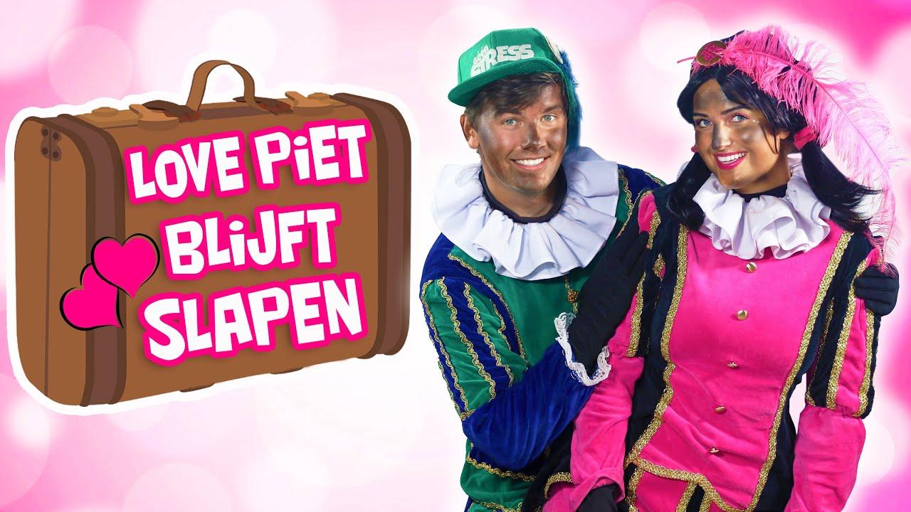 LOVE PIET BLIJFT SLAPEN BIJ.... STRESS PIET!!🛏🧳 - LOVE PIET #13